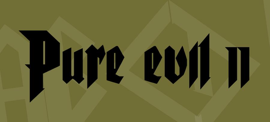 pure evil 2