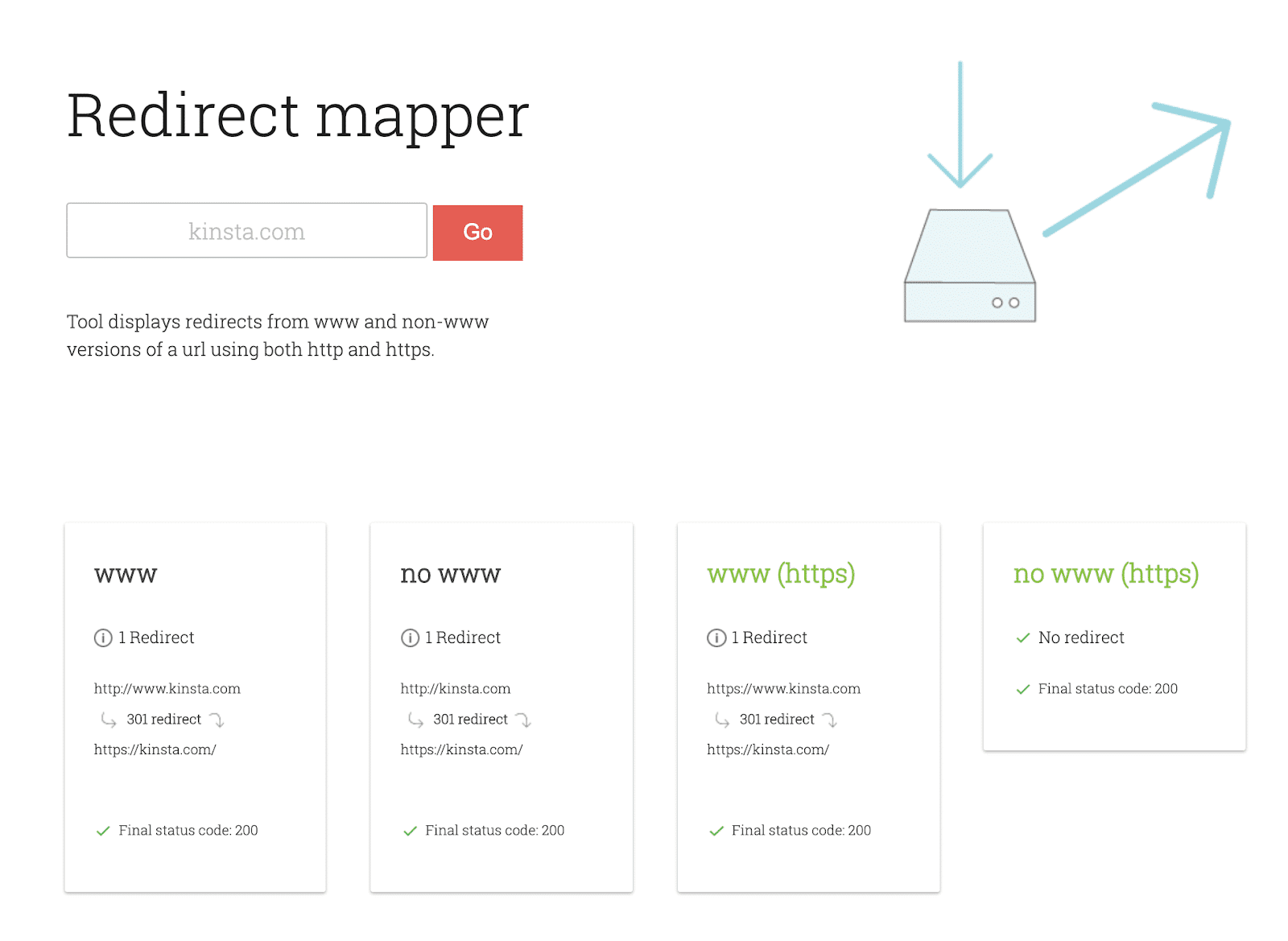 Das Redirect Mapper Tool