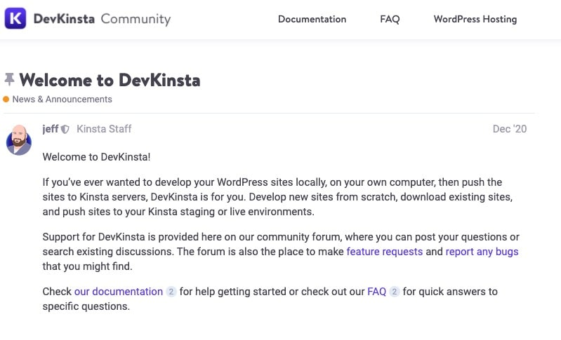 Communityforum
