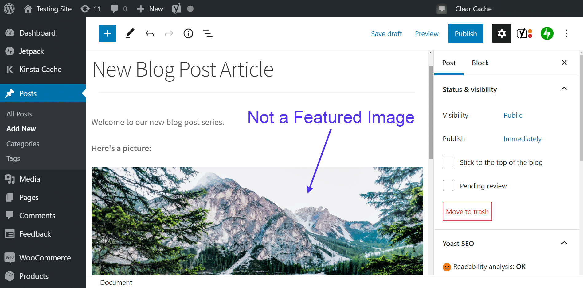 This is not a featured image