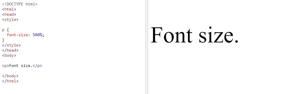 Cómo ajustar el tamaño de la fuente mediante CSS