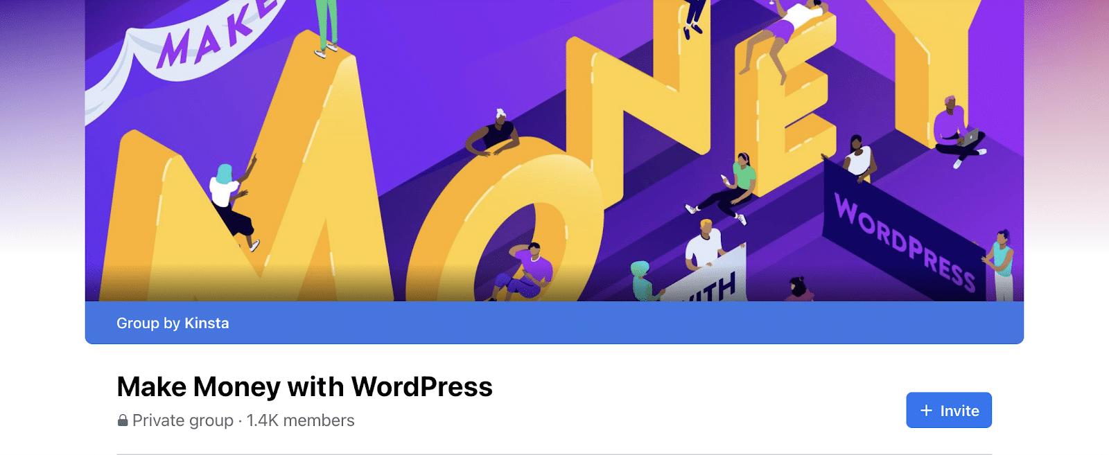 Make Money with WordPress Facebook Groups