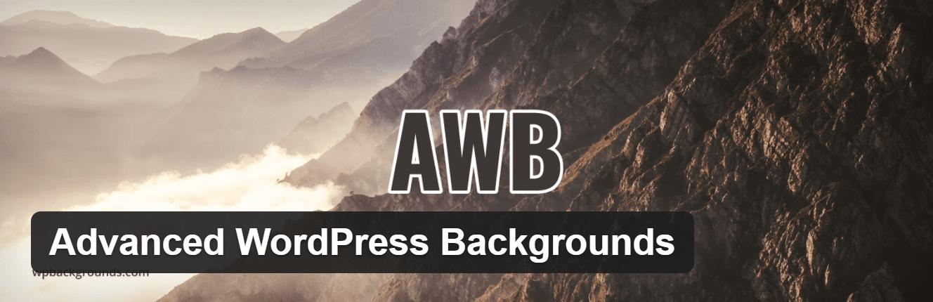 AWB - Advanced WordPress Backgrounds plugin
