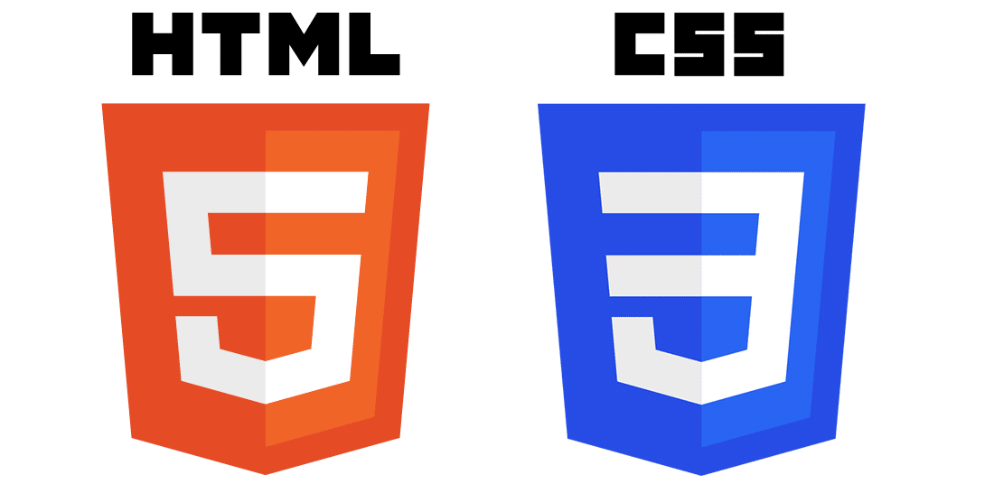 HTML5 and CSS3 logos