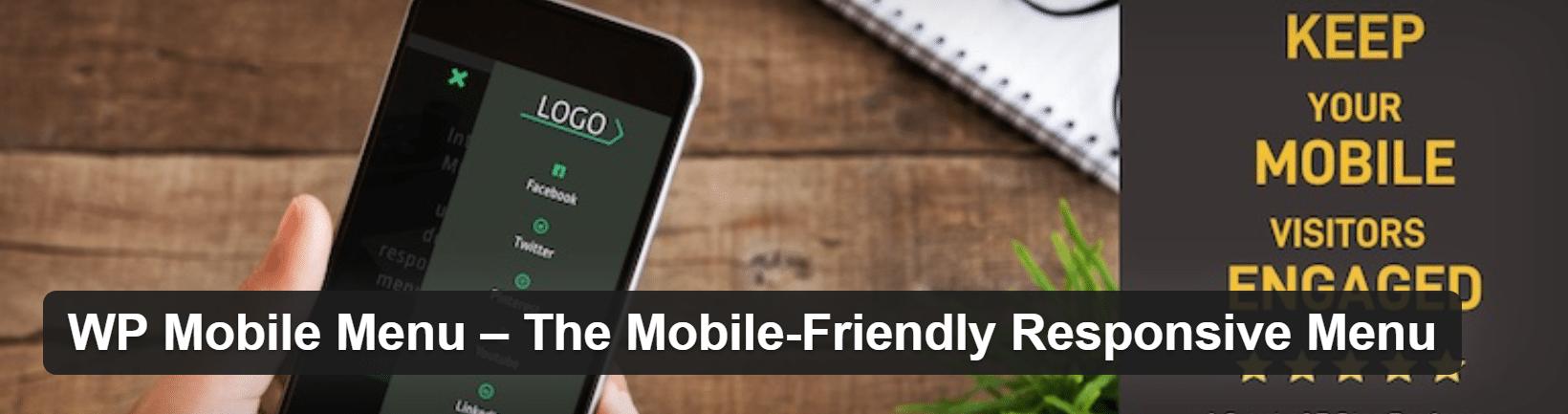 WP Mobile Menu plugin