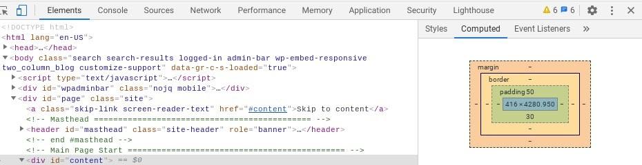 The Google Chrome DevTools Console.