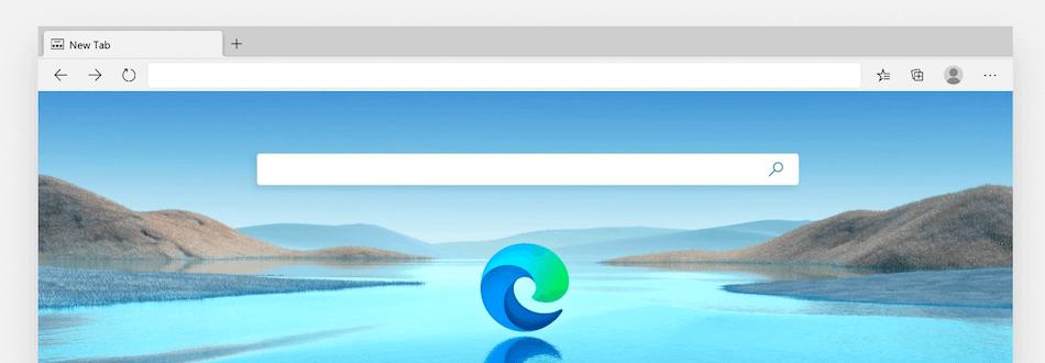Le navigateur Microsoft Edge.