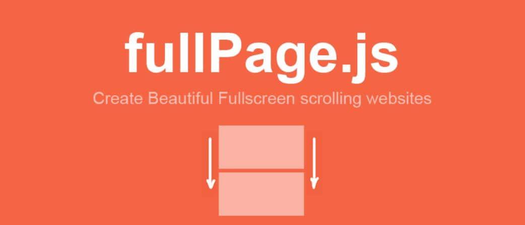 biblioteca fullpage.js