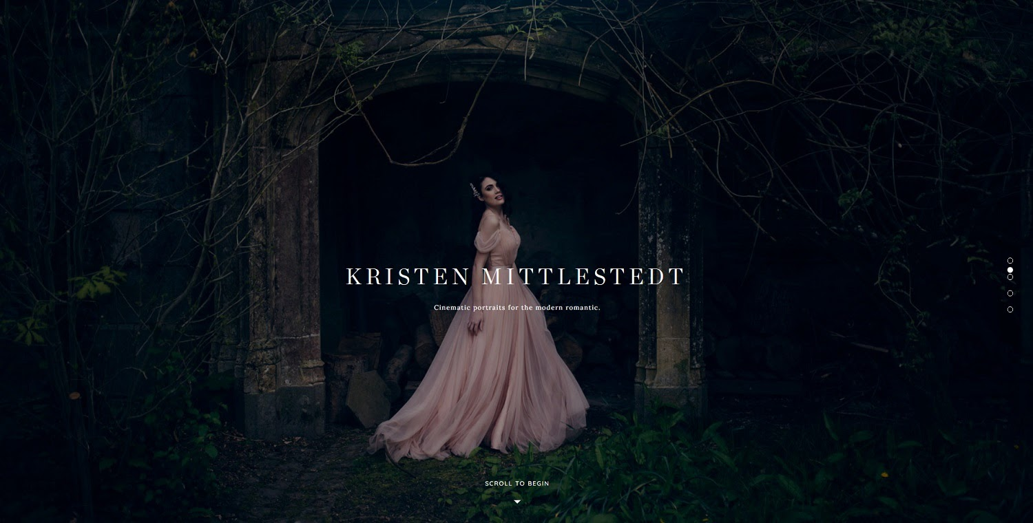 Kristen Mittlestedt photography website