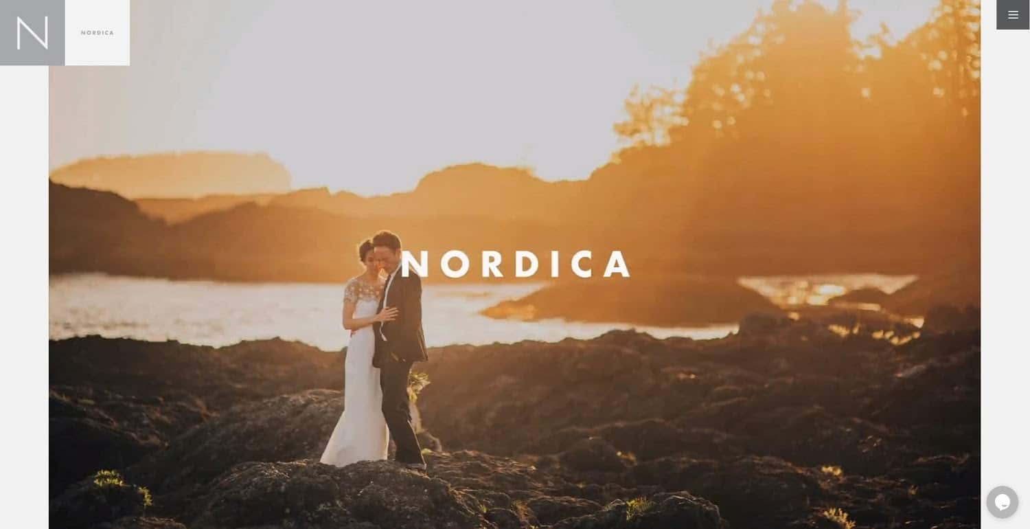 Nordica photography website