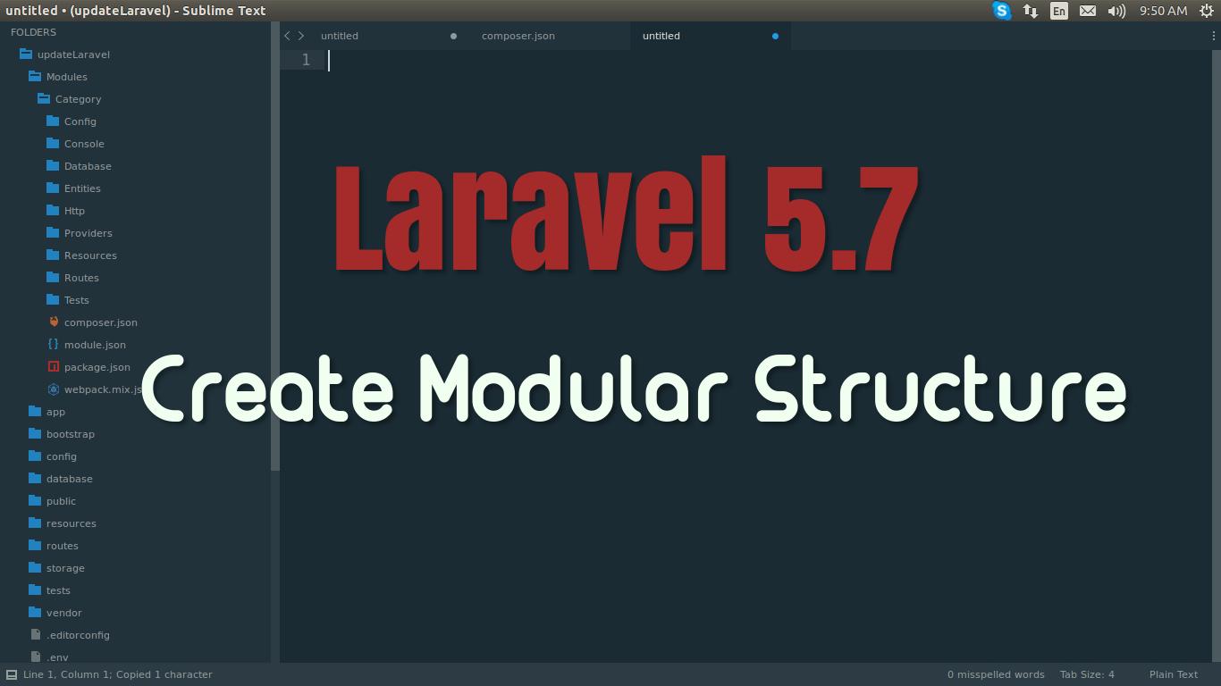 Estrutura do projeto Laravel. (Fonte: ITSolutionStuff.com)