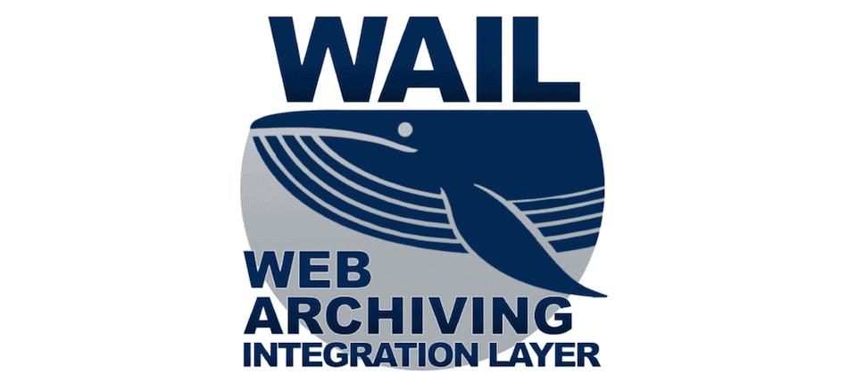 The Web Archiving Integration Layer (WAIL) website.