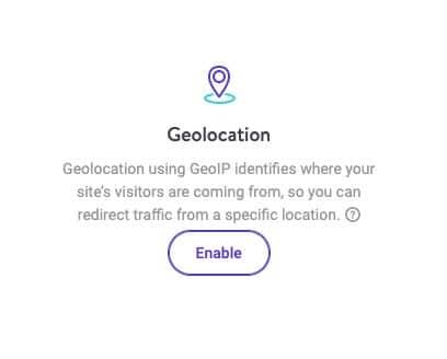Funzione di geolocalizzazione in MyKinsta