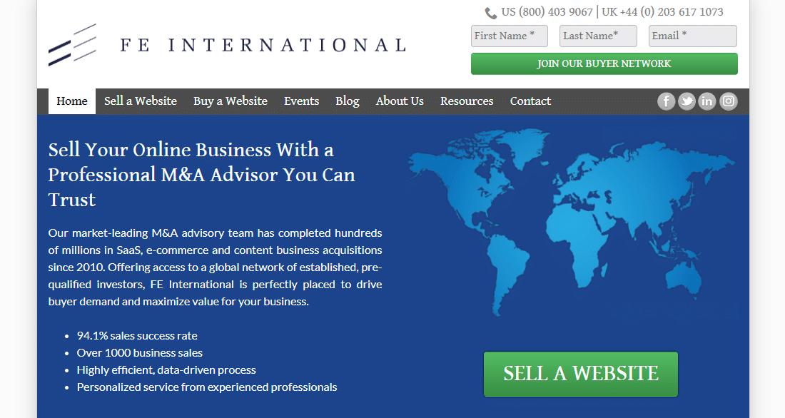 FE International公式ウェブサイト