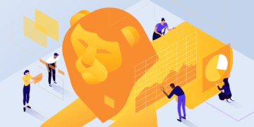 Brave Browser Review, featured image, illustration.