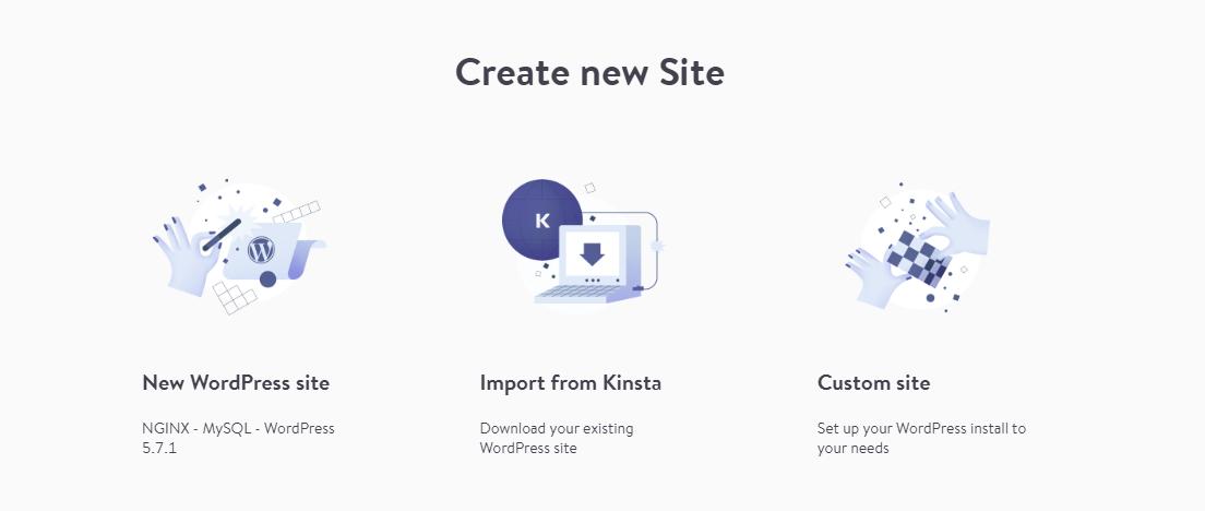 Importing a Kinsta website to localhost using DevKinsta.