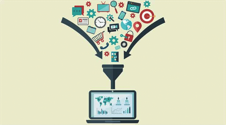 Visualization of Big Data Analytics. (Image Source: Usability Geek)