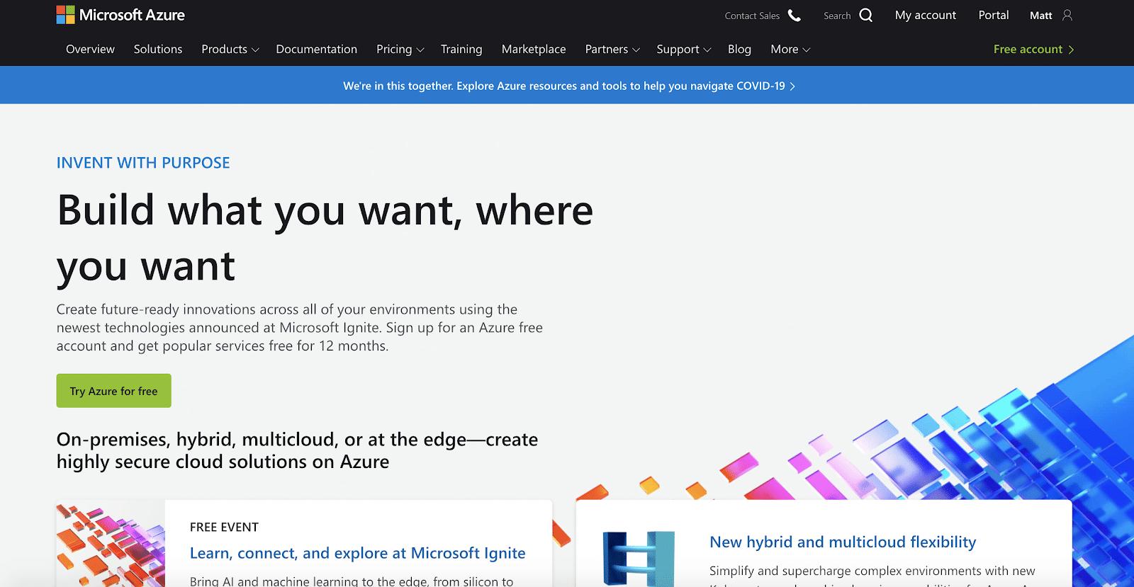 Économisez sur le coût de votre matériel serveur avec Microsoft Azure.
