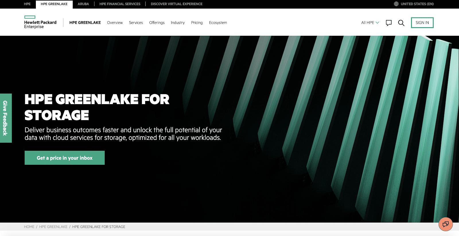 HPE Greenlake stocke des données essentielles pour des entreprises du monde entier.