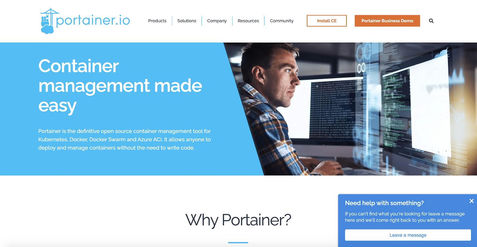 Portainer est un XaaS qui héberge votre code dans des conteneurs.