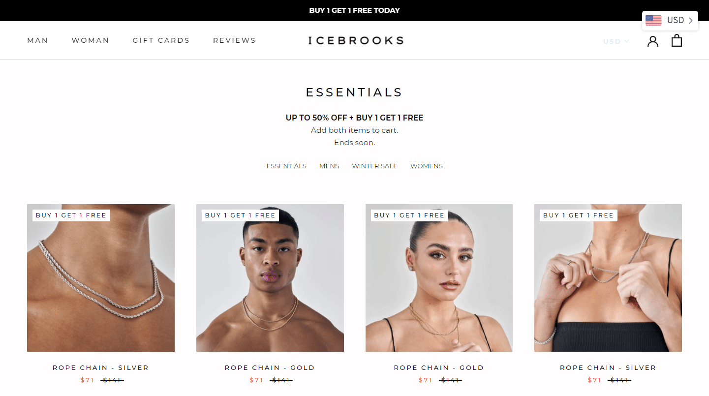 Icebrooksの商品ページ