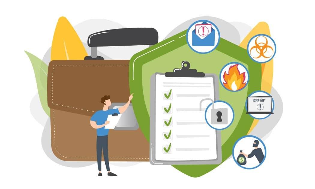 Arten von Unternehmensversicherungen (Quelle)