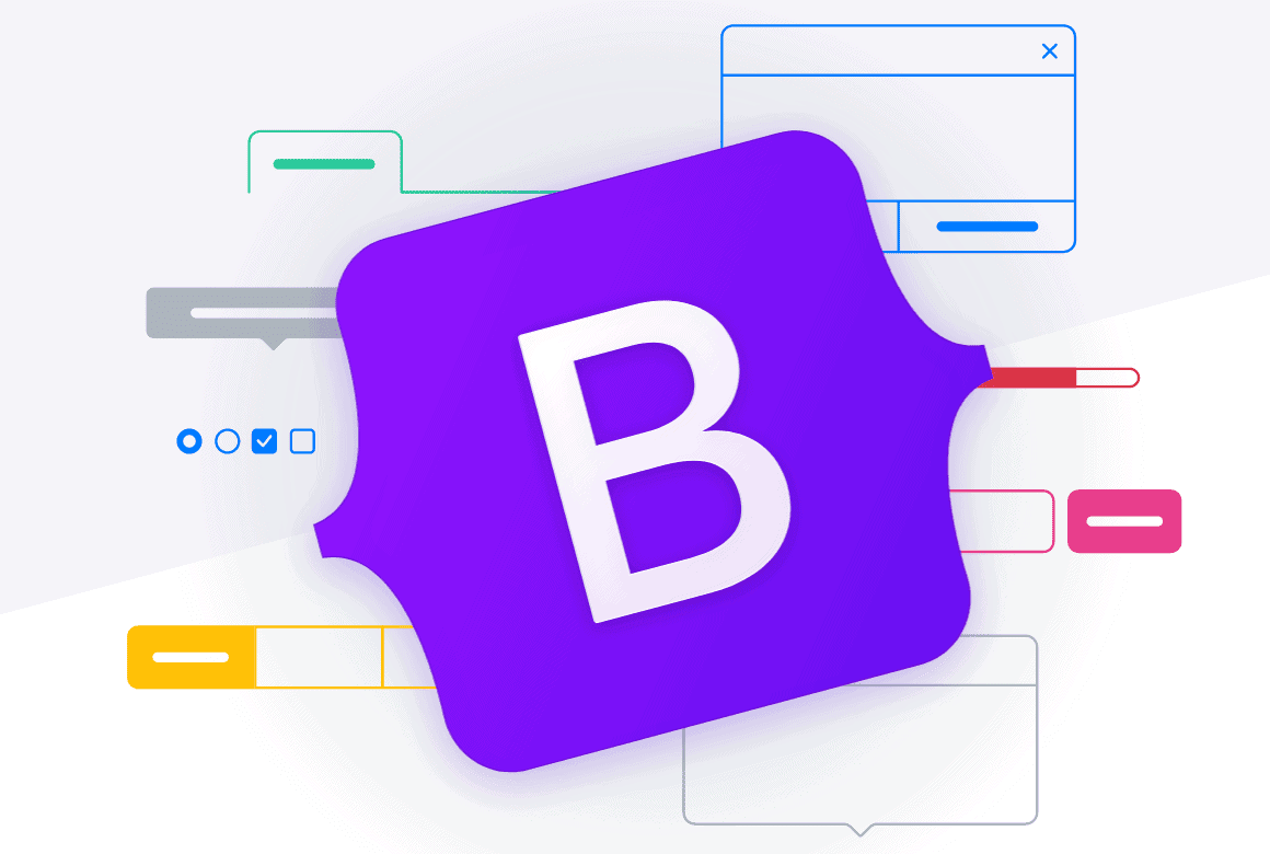 The Bootstrap logo.