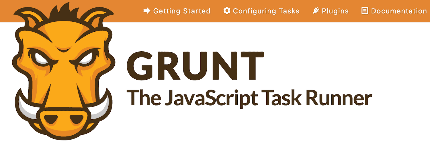 The Grunt homepage.