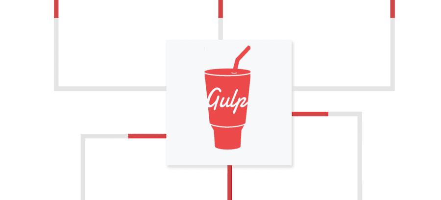 The Gulp logo.