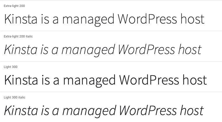 Source Sans Pro.