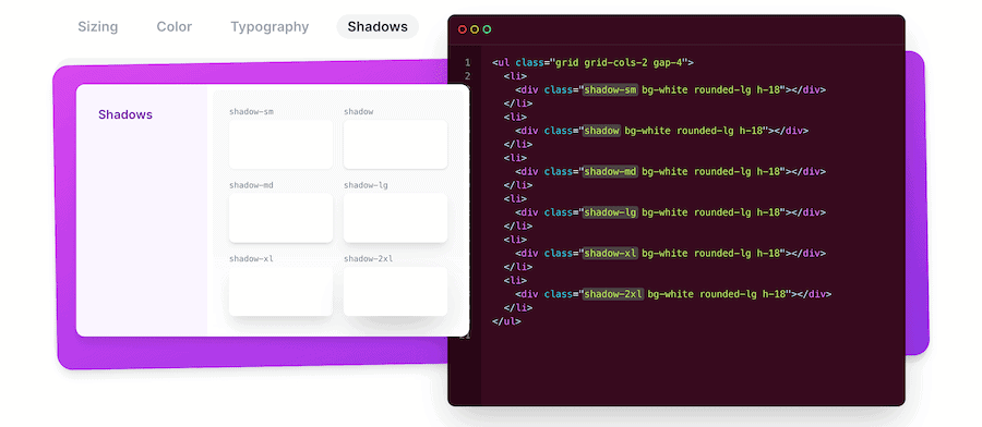 A Tailwind CSS example.