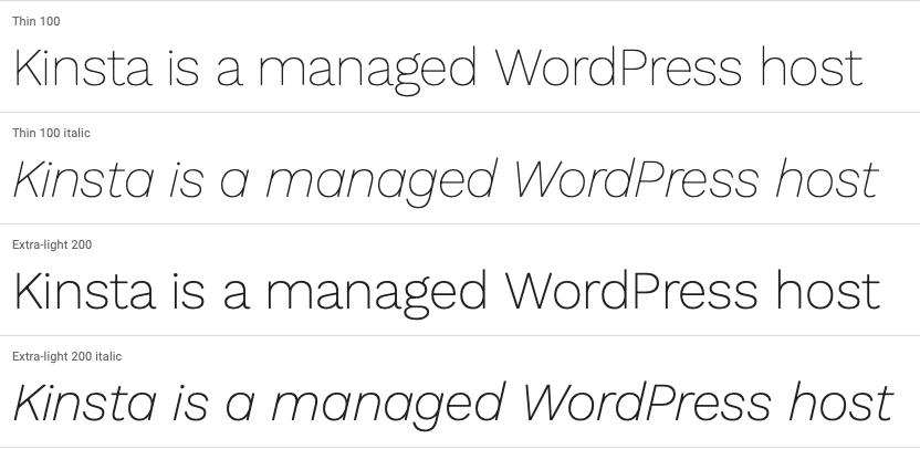 Work Sans.