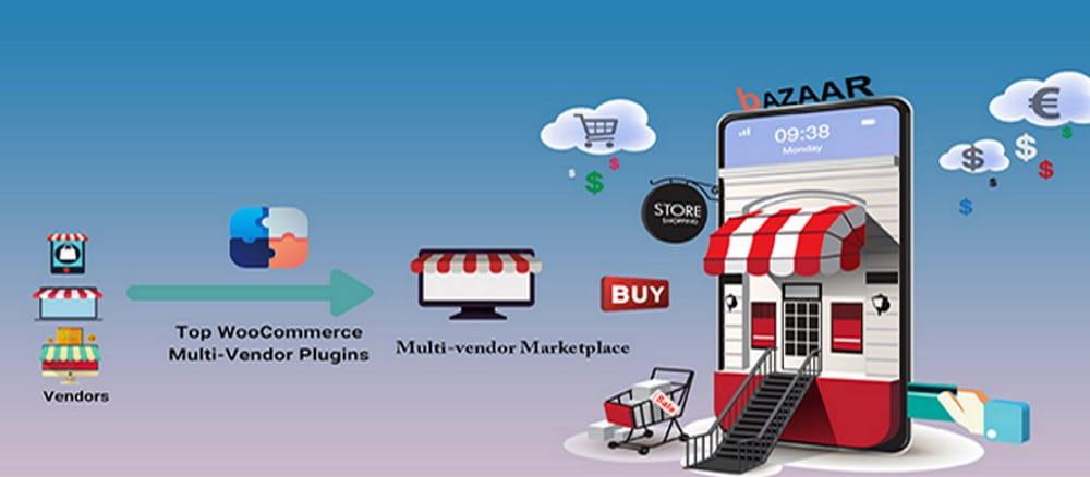 bAZAAR WooCommerce multi-vendor plugin.