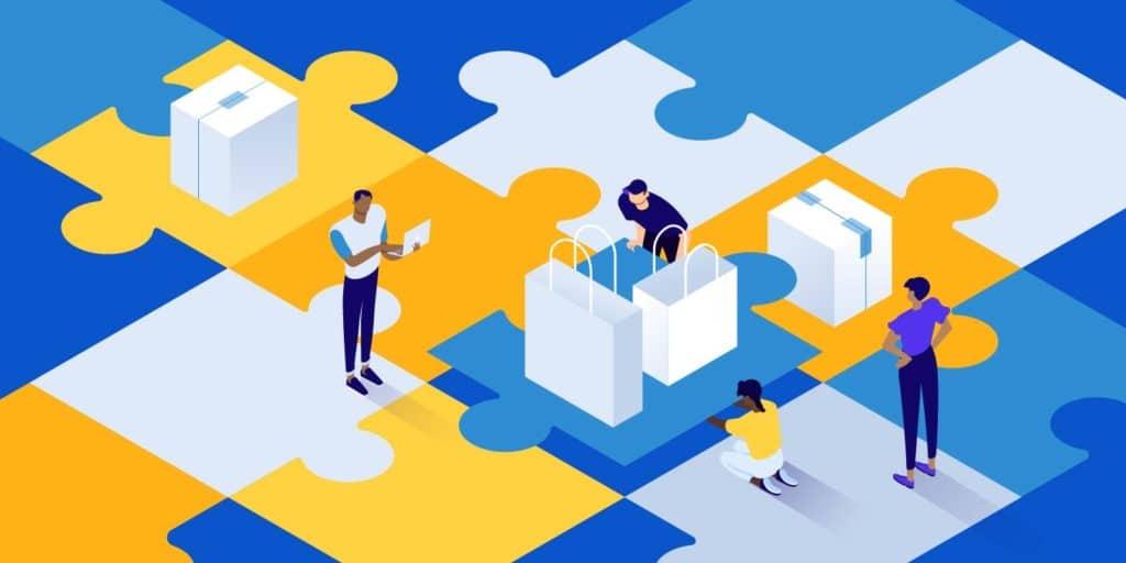 WooCommerce Multi Vendor Plugins, featured image, illustration.