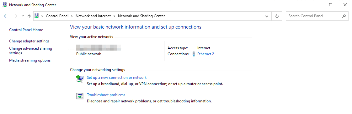 Alterando as configurações de seu adaptador de rede.