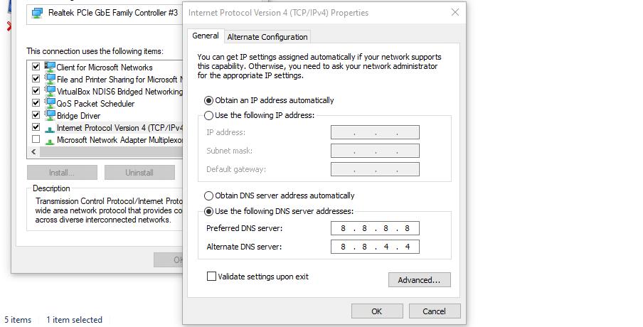 Modificando as configurações de seu servidor DNS.