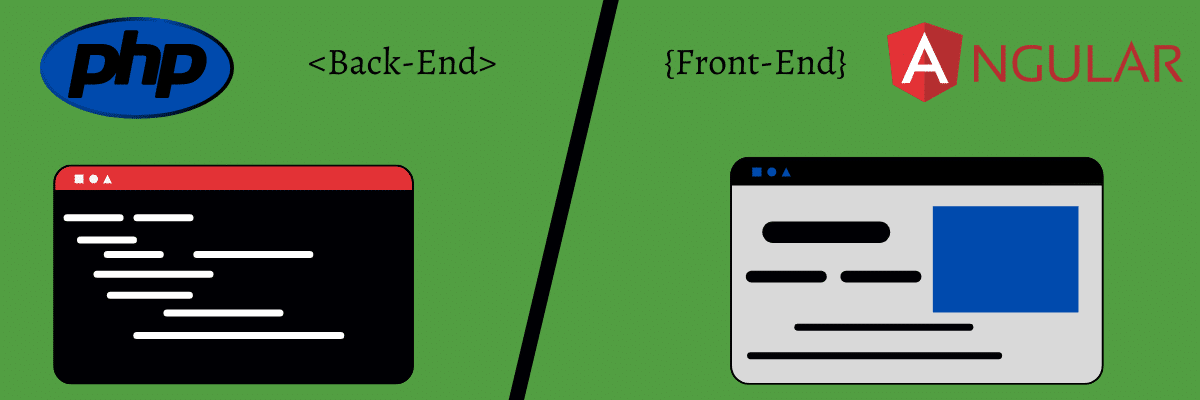 Comparingfrontend and backend for Angular and PHP