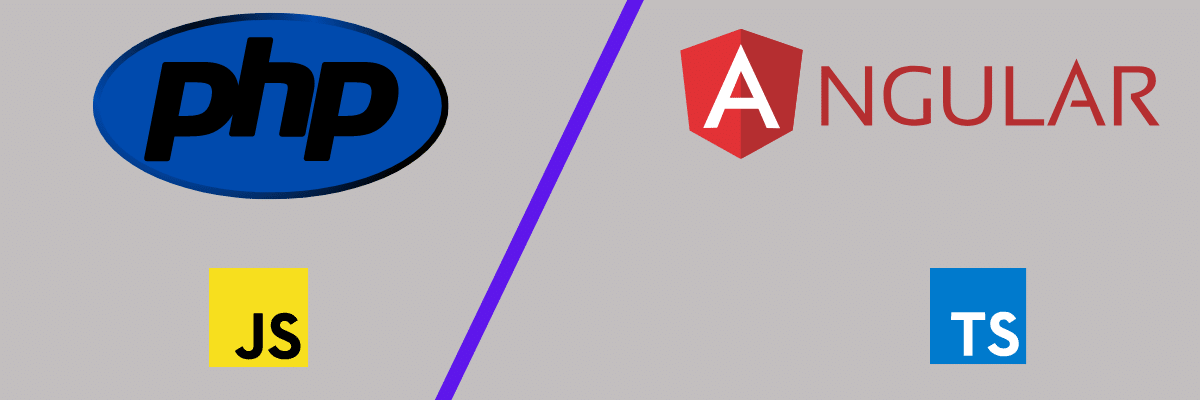 Comparing language vs web framework for PHP and Angular