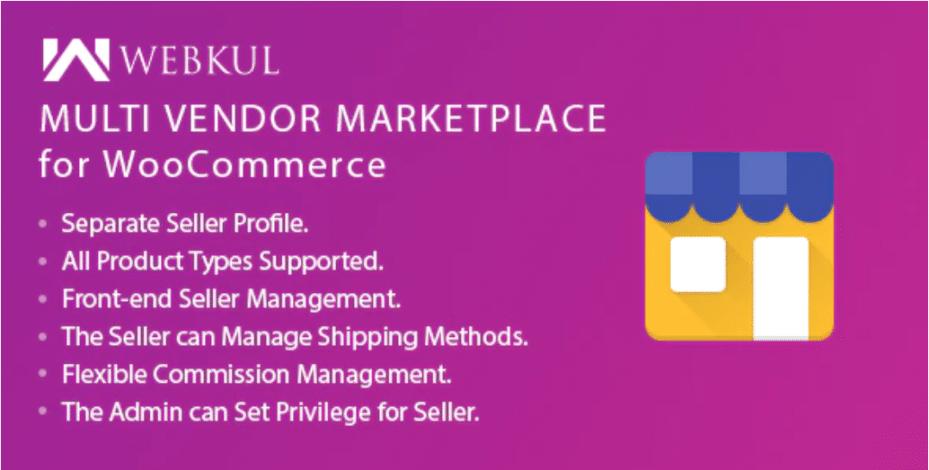 Webkul Multi Vendor Marketplace Plugin.