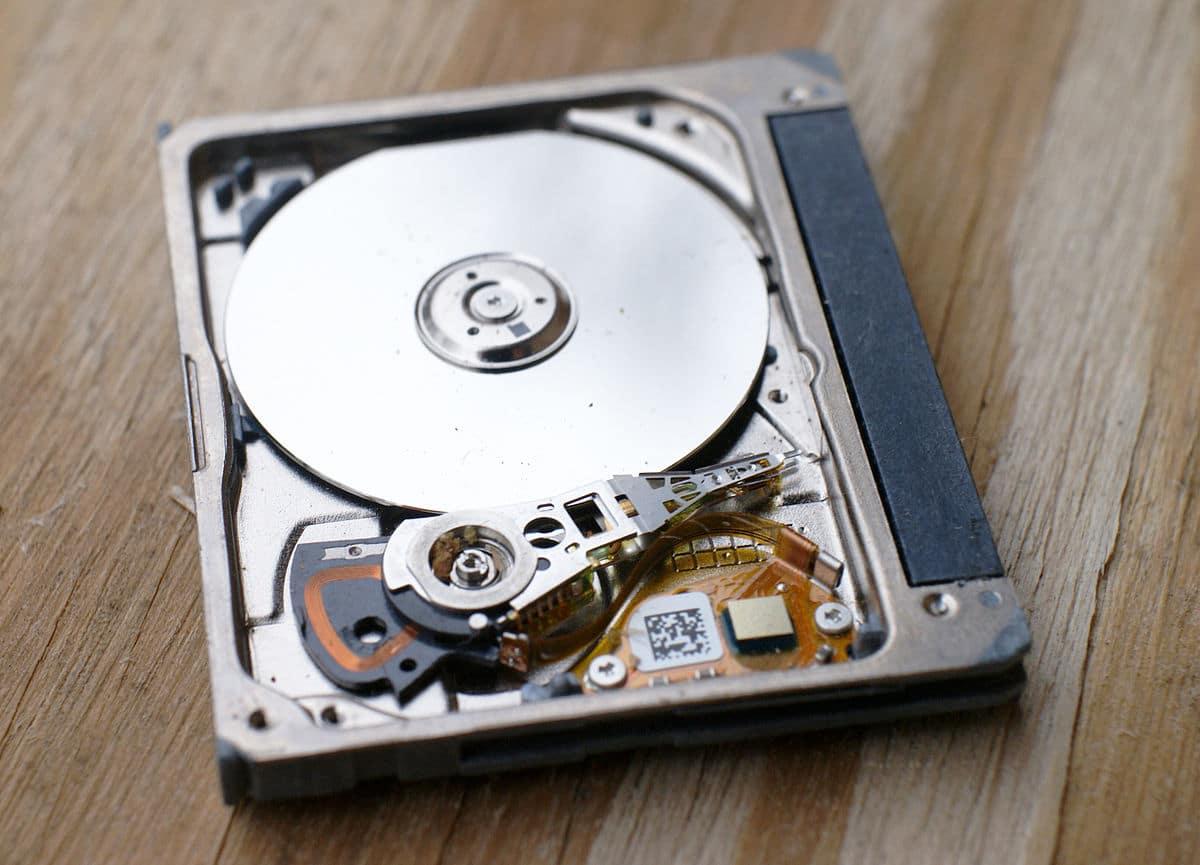 An HDD drive