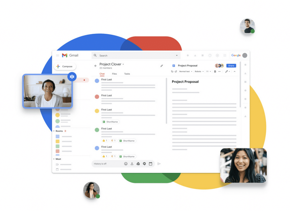 The Google Workspace website to help keep email and hosting separate