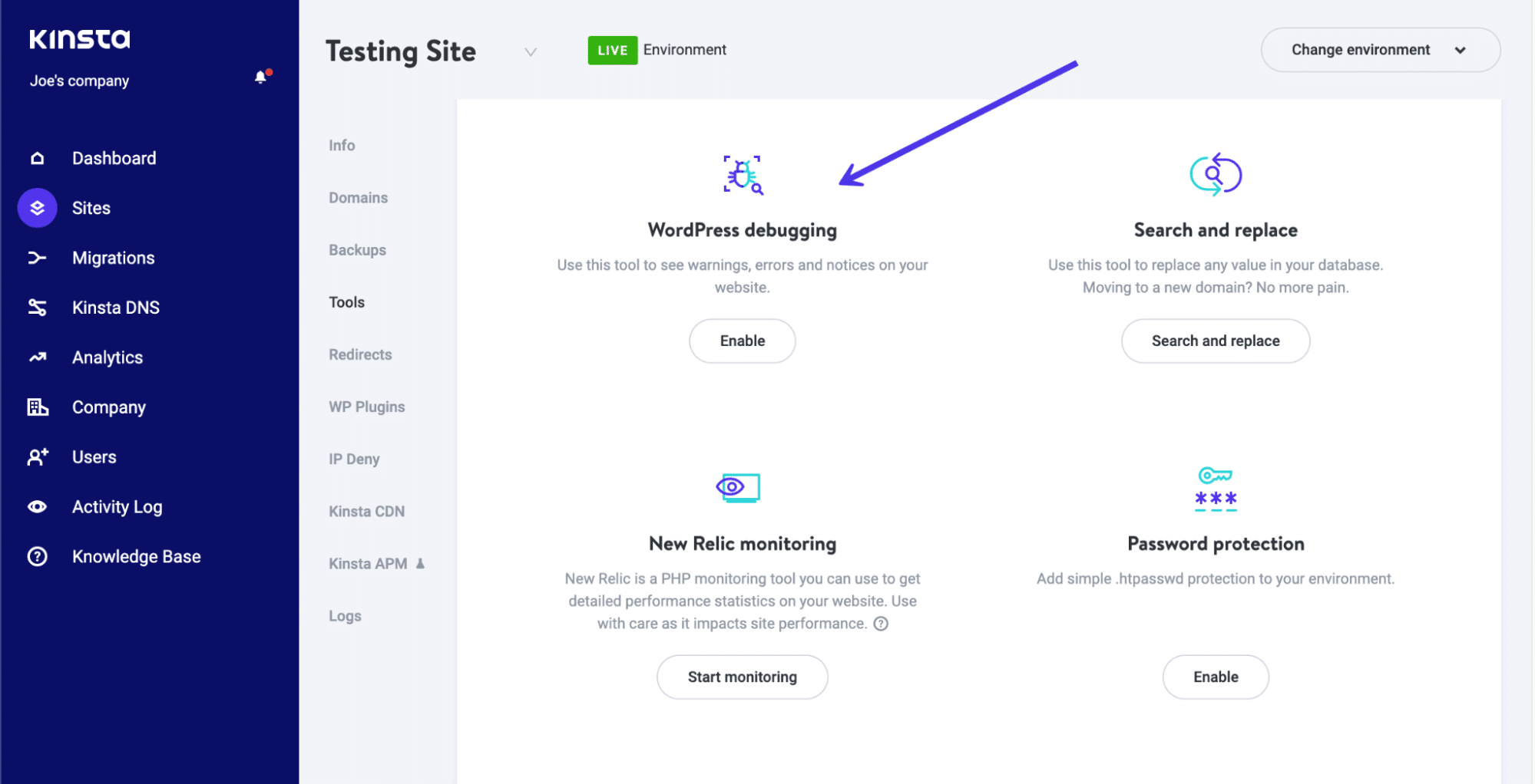 use WordPress debugging for 406 error